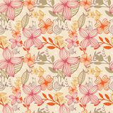 Pattern flower Stock Image