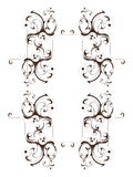 Pattern flower. Vector flower pattern on white background Stock Images