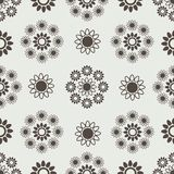 Pattern. Flower abstraction vector illustration