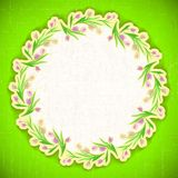 Pattern flower Background vector april web Royalty Free Stock Photo