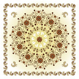 Pattern with flower Royalty Free Stock Images