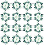 Pattern flower Stock Images
