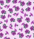 Pattern, flower, flowers, floral, abstract, pink, design, illustration, nature, butterfly, art, wallpaper, white, seamless, spring stock illustration