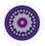 Pattern. Flower pattern mandala illustration style Royalty Free Stock Photography