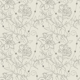 Pattern flower seamless Royalty Free Stock Image
