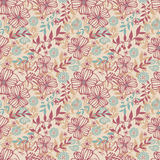 Pattern flower seamless Royalty Free Stock Photography