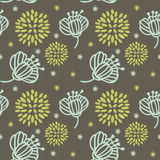 Pattern flower seamless Stock Photography