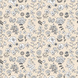 Pattern flower seamless Royalty Free Stock Photos