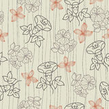 Pattern flower seamless Royalty Free Stock Images