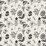 Pattern flower seamless Stock Photo