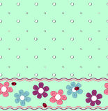 Pattern_ flower Royalty Free Stock Photo
