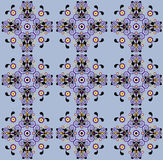 Pattern with flower seamless texture Royalty Free Stock Image