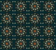 Pattern with flower Royalty Free Stock Photography