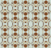 Pattern with flower Royalty Free Stock Photos