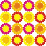 Pattern_flowers Stock Photography