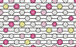 Pattern of flowers. Stock Image