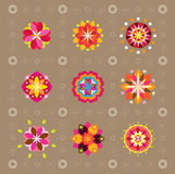 Pattern Flowers Royalty Free Stock Photo