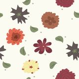 Pattern flowers. This is file of EPS10 format Stock Images