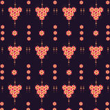 Pattern flowers Royalty Free Stock Photography