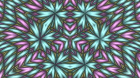 Pattern - flowers stock video footage