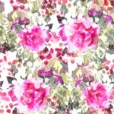 Pattern With Flowers And Halftone Elements Floral Background Camo Royalty Free Stock Images