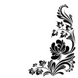 Pattern with flowers Stock Images