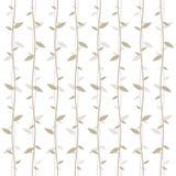 Pattern foliage vector Stock Image