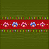 Pattern folk Stock Images