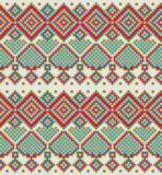 Pattern in folk style Stock Image