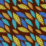 Pattern in folk style Royalty Free Stock Images