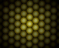 Pattern Folliage Swirl Sepia Royalty Free Stock Image