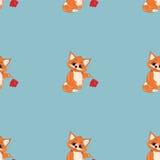 Pattern fox Stock Photos