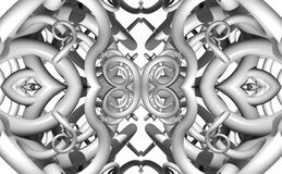Pattern from a fractal Stock Image