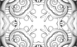 Pattern from a fractal Royalty Free Stock Image