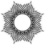 Pattern_frame 免版税库存图片