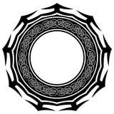 Pattern_frame 免版税库存照片