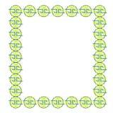 Pattern frame Royalty Free Stock Image