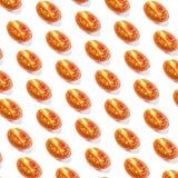 Pattern of fresh sliced tomato Stock Photo