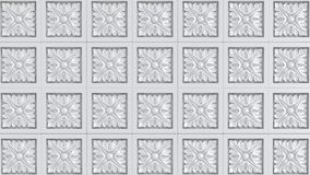 Pattern Fretwork background. Texture grey Stock Photography