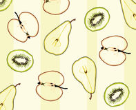 Pattern of fruit Royalty Free Stock Photography