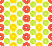 Pattern from fruit Royalty Free Stock Photos