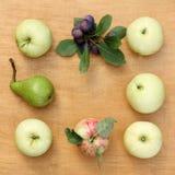 Pattern of fruit Royalty Free Stock Image