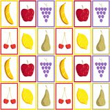 Pattern fruits Royalty Free Stock Photo