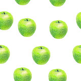 Pattern with fruits Royalty Free Stock Photos