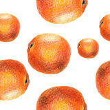 Pattern with fruits Stock Photos
