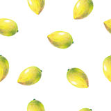Pattern with fruits Royalty Free Stock Photography