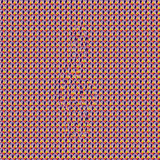 Pattern G-clef Stereogram. Multi-level geometric autostereogram. G-clef or treble clef is hidden within the patterned background Stock Photos