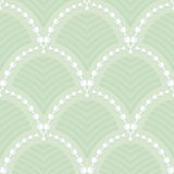 Pattern of garlands of white lily of the valley Stock Images