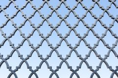 Pattern on gate Stock Photos