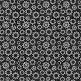 Pattern with gears or cogwheels Stock Images